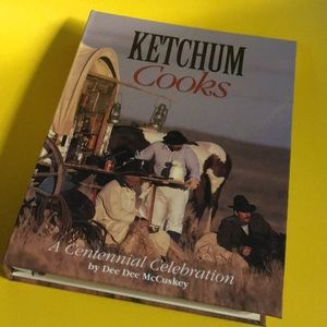 Cookbook KETCHUM IDAHO 1995 centennial cook book